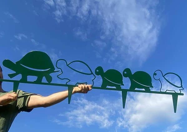 Teknős család a kertbe 2