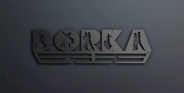 Egyedi falikép és sport éremtartó fali dekoráció ötletek Egyedi táncos betűs éremtartó