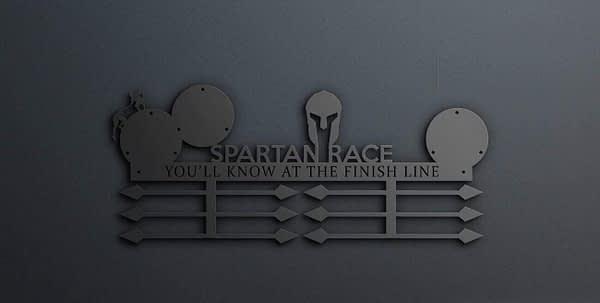 3 trifecta tartós spartan race v2 éremakasztó 1
