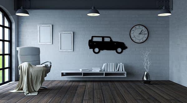 Jeep dekor kép a faladra 1