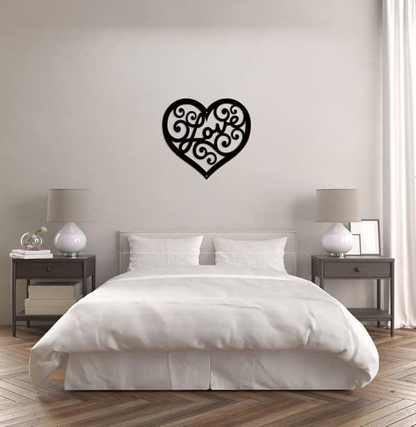 LOVE fali dekoráció 1