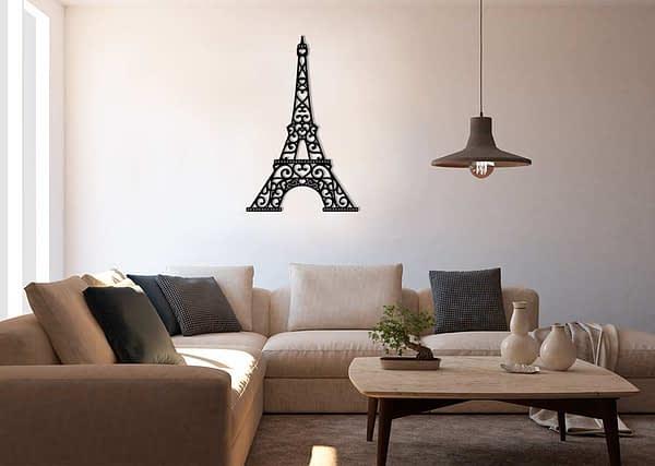Eiffel-torony fém fali dekoráció 1
