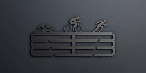 Triatlonos éremtartó 1