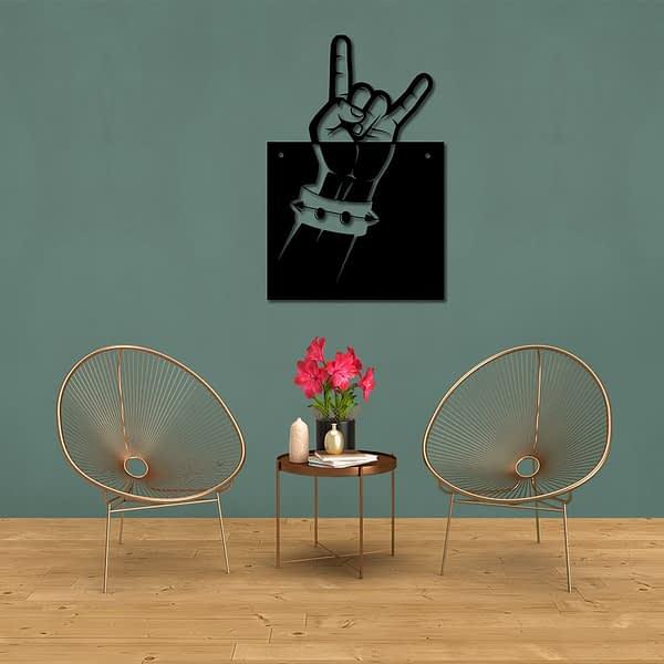 Metálvilla fém dekorkép 1