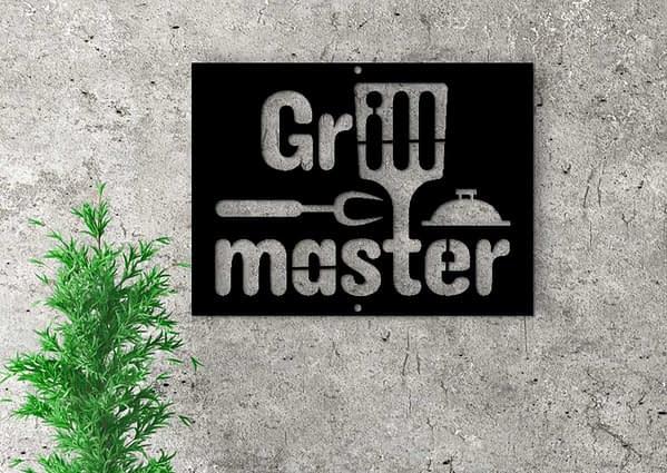 Grill mester dekoráció 1