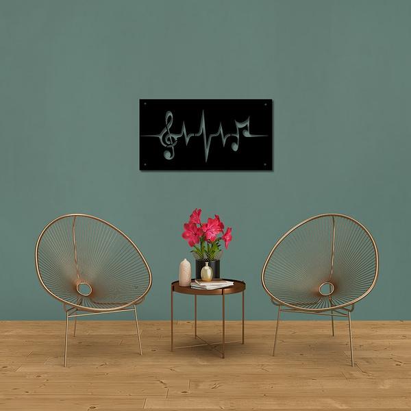 Music EKG dekorkép 1