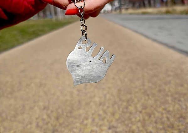Love run kulcstartó 1