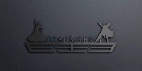Egyedi falikép és sport éremtartó fali dekoráció ötletek Tangó táncos éremtartó