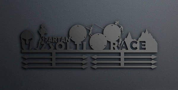 Egyedi falikép és sport éremtartó fali dekoráció ötletek Egyedi SR éremtartó a neveddel
