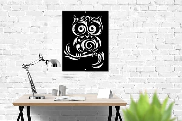 Bagoly modern dekor kép 1